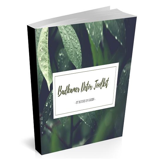 Badkamer detox toolbox e-book